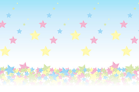 publicity: Background material wallpaper, it rained and it piled up star, night sky, starry sky, galaxies, nebulae, sky, stardust, star pattern, sparkling stars, glitter, star, colorful, advertising, publicity, sales promotion, CM, commercial, promotional
