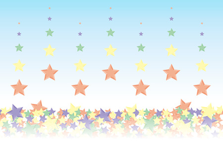 Background material wallpaper, it rained and it piled up star, night sky, starry sky, galaxies, nebulae, sky, stardust, star pattern, sparkling stars, glitter, star, colorful, advertising, publicity, sales promotion, CM, commercial, promotional
