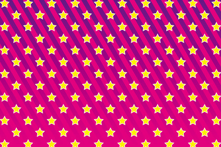 Background material wallpaper, stripe, stripes, star pattern, stardust, star, wrapping paper, wrapping, decoration Vector