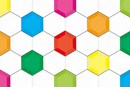 Background material wallpaper, hexagon, hexagonal, honeycomb structure, honeycomb, sport, ball, soccer, football, World Cup, soccer ball Vector