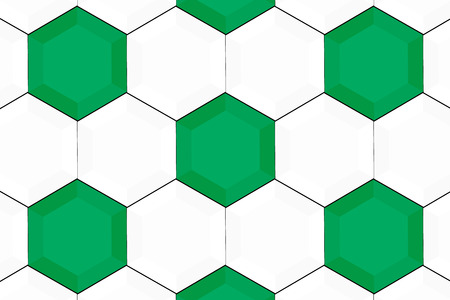 Background material wallpaper, hexagon, hexagonal, honeycomb structure, honeycomb, sport, ball, soccer, football, World Cup, soccer ball Illusztráció