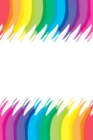screen savers: Background material wallpaper, rainbow colors, rainbow, character space, name card, price card, copy space, text space, white space
