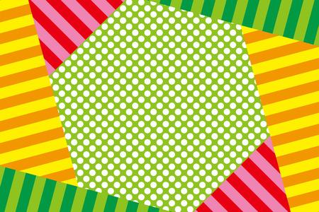 sns: Material, wallpaper, background, polka dot, polka dots, dotted, dot, dot pattern, stripe, stripes, stripes people Illustration