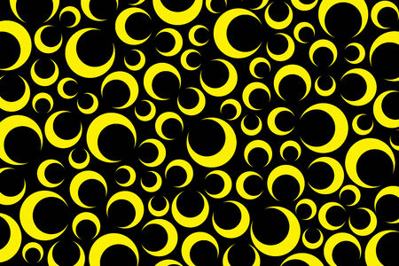 screen savers: Background material wallpaper, moon, crescent, crescent-shaped, night, sky, night sky, stars, star, decoration, ornament, wrapping, packaging, wrapping paper