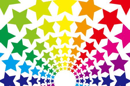 Background, material, wallpaper, rainbow, rainbow colors, seven colors, explosion, fireworks, summer festival, festival, light, event, summer, night sky, starry sky
