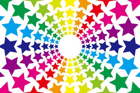 Fond, matériel, papier peint, arc en ciel, couleurs de l'arc, sept couleurs, explosion, feux d'artifice, festival d'été, festival, lumière, événement, été, ciel de la nuit, ciel étoilé