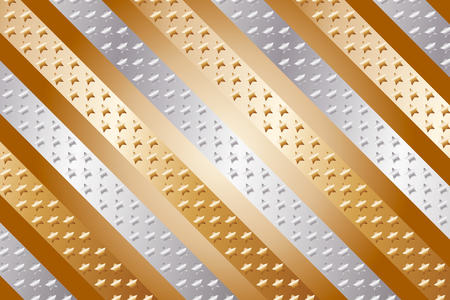 standby: Background, material, wallpaper, metal, metallic, stripes, stripe, star, stardust, gold, silver, copper, brown, gold color, silver color, copper color, brown color
