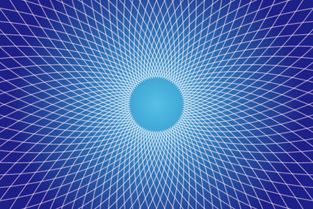 electromagnetic: Background, material, wallpaper, pattern, radiation, radial, curve, waves, ripples, radio waves, electromagnetic waves, space, four dimensional, different dimension, different space, warp, warp zone Illustration