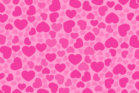 Background material wallpaper, Valentines Day, White Day, Heart mark, Heart pattern, love, affection, love, couple, lovers, cute Illustration