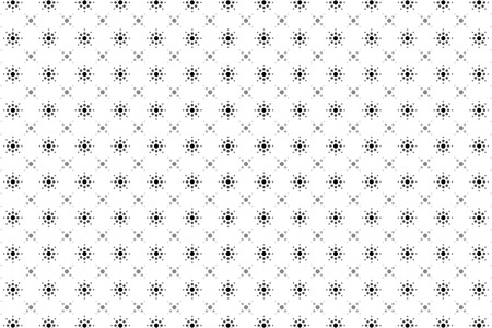 Background material wallpaper, circle, point, dot, dots, polka dots, decoration, ornament, patterns, wrapping, wrapping paper, fireworks, flower, flower pattern, sun Vector