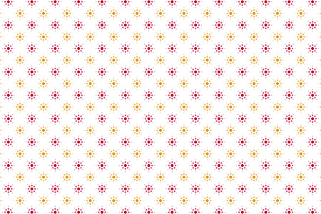 standby: Background material wallpaper, circle, point, dot, dots, polka dots, decoration, ornament, patterns, wrapping, wrapping paper, fireworks, flower, flower pattern, sun Illustration