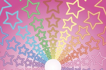 材料の背景の壁紙、虹、レインボー、虹、レインボー、カラフルな星、星、スター、スターダスト、花火、花火、花火、祭り、お祝い、パーティー