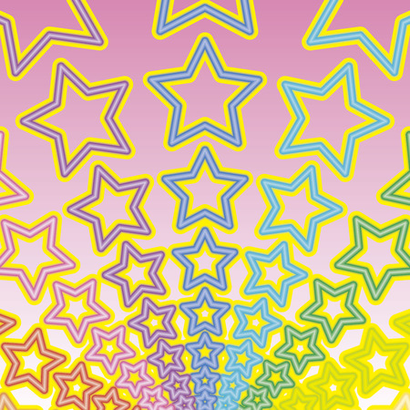 背景素材壁紙、虹、虹、虹、虹、星、星、スター、スターダスト、花火、花火、花火、祭り、お祝い、パーティーを撮影、カラフルです