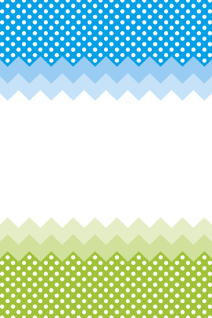 margin: Background wallpaper material, polka dots, zig-zag, margin, price card, price tag, name card, copy space, text space, character space