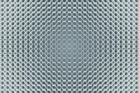 Background material wallpaper, hexagon, regular hexagon, honeycomb, honeycomb structurel, three-dimensional structure, 3D, three-dimensional Ilustração