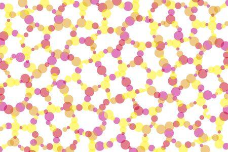 dimple: Dither polka dots Polka polkadot pattern pocked it circle circular circular round round dimpled point point dot Illustration