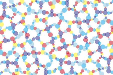 Dither polka dots Polka polkadot pattern pocked it circle circular circular round round dimpled point point dot  イラスト・ベクター素材