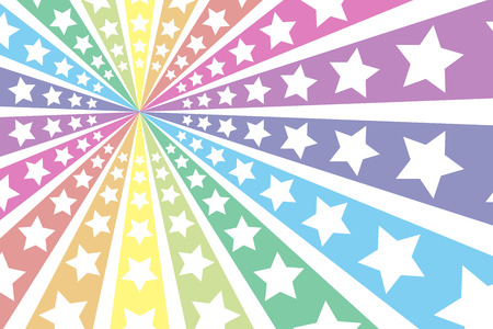 배경 물질은 방사선 방사형 무지개 무지개 무지개 7 색 화려한 슈팅 스타 스타 스타 스타 더스트 불꽃 놀이 벽지 스톡 콘텐츠 - 40853901