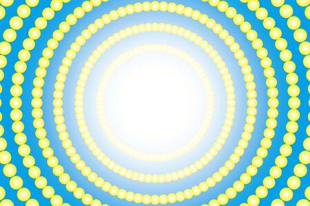 macular: Radial circle polka dots Pastelcolored illumination neon light shine entertainment