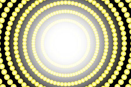 Radial circle polka dots Pastelcolored illumination neon light shine entertainment