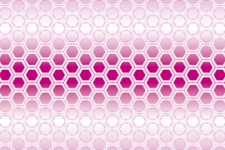 pink background: Positive hexagonal, honeycomb structure, mesh, mesh, net, stitch pattern, fence, wire netting, wire mesh, metal mesh,