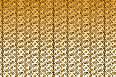 bitter orange: Wallpaper background material, hemp, asano, pattern, patterns, Crest, washi, Oriental, Japanese, Japan style, of Japan, tradition, m., chiyogami