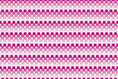 fade out: Wallpaper background material, dot, dimple, dither, point, spot, Polka, mizutama pattern, pocked it, punching Illustration