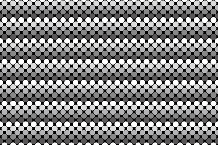 dimple: Wallpaper background material, dot, dimple, dither, point, spot, Polka, mizutama pattern, pocked it, punching Illustration
