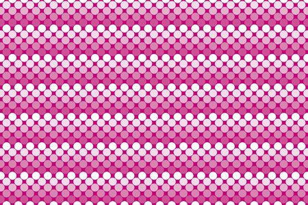 banded: Wallpaper background material, dot, dimple, dither, point, spot, Polka, mizutama pattern, pocked it, punching Illustration