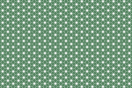 cannabis leaf: Wallpaper background material, cannabis leaf pattern, hemp leaf patterns, Granny leaves, Japanese, Japan style, tradition, Japanese, Kyoto, m., washi, chiyogami, floral Illustration