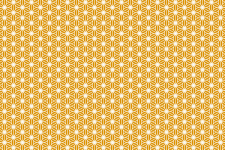 bitter orange: Wallpaper background material, cannabis leaf pattern, hemp leaf patterns, Granny leaves, Japanese, Japan style, tradition, Japanese, Kyoto, m., washi, chiyogami, floral Illustration