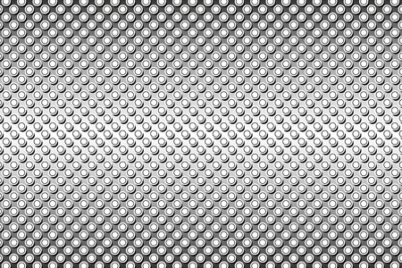 fleck: Wallpaper background material, Polka, mizutama, pocked it, point we spotted, dimple, dither, perforated metal Illustration