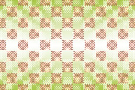 punched: Wallpaper materials, Polka, mizutama pattern, pocked it, point, spot, dimple, dither, jade, grain, tile Illustration