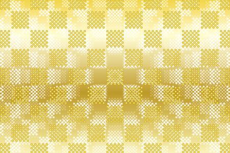 jade: Wallpaper materials, Polka, mizutama pattern, pocked it, point, spot, dimple, dither, jade, grain, tile Illustration