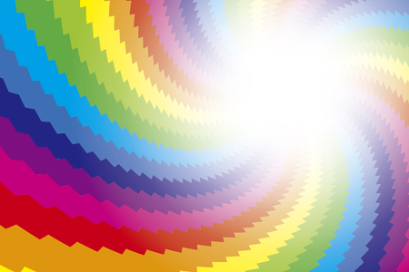 bitter orange: Background material wallpaper, Rainbow, rainbow color, 7 colors, colorful, spiral, spiral, spiral, spiral, light, shine,