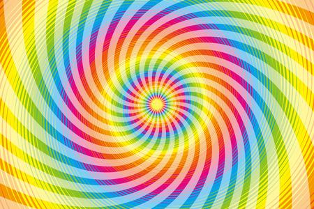 材料、ラテン、サイケデリック、虹色虹色、色、カラフルな旋風、旋回、螺旋状を壁紙します。