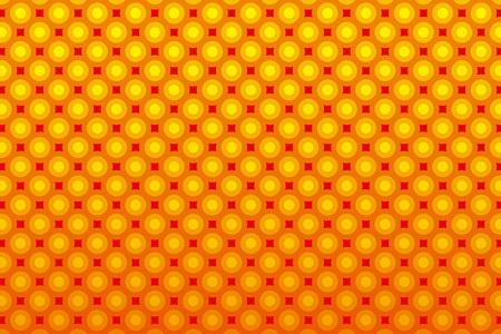 bitter orange: Background wallpaper material, Polka, mizutama pattern, pocked it, point, spot, dimple, pantingmetaldiza
