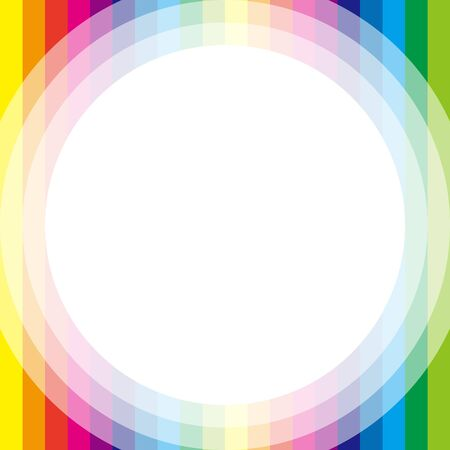 colorful frame: Background material wallpaper, Rainbow, Rainbow, colorful, frame, letter, greeting cards, letter for