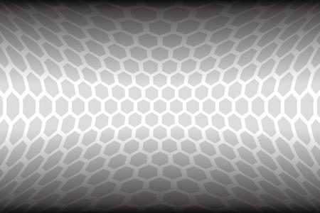 材料、六角形、ハニカム、ハニカム構造、歪んだ、曲線、屈折、寸法、空間、次元ワープ、世界を壁紙します。
