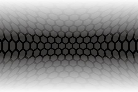 giveaway: Materiales Wallpaper, hexagonal, panal, estructura de panal, deformada, curvada, refracciones, dimensi�n, el espacio, la deformaci�n dimensional mundo