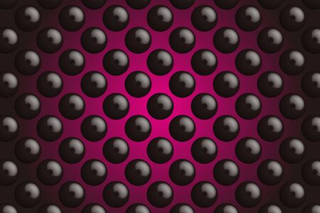 macular: Background material wallpaper, buttons, tack, Polka, mizutama, pocked it, dimple, dither, perforated metal Illustration