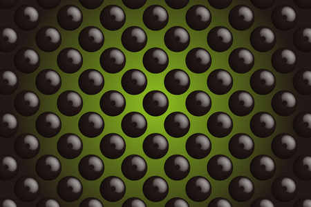 tack: Background material wallpaper, buttons, tack, Polka, mizutama, pocked it, dimple, dither, perforated metal Illustration