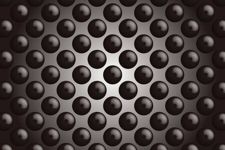 perforated: Background material wallpaper, buttons, tack, Polka, mizutama, pocked it, dimple, dither, perforated metal Illustration