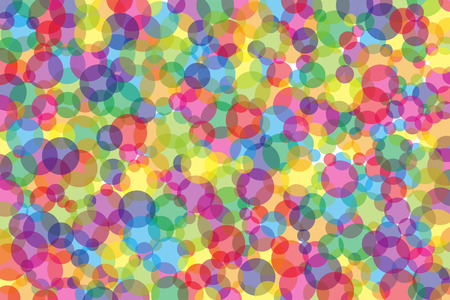 Wallpaper material, colorful, Rainbow, Rainbow, Rainbow, rainbow color, Yen, circle, circle, circle-shaped, ring, ring, mosaic, random, white, simple, simple,