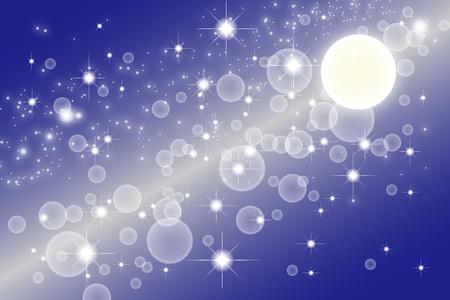 sf: Wallpaper materials, Stardust, Stardust, Galaxy, Nebula, night, sky, milky way, milky way, glitter, space, moon, mystery