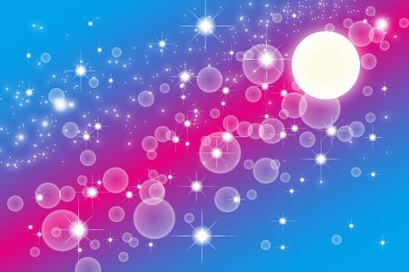 mystery: Wallpaper materials, Stardust, Stardust, Galaxy, Nebula, night, sky, milky way, milky way, glitter, space, moon, mystery