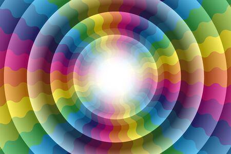jag: Wallpaper material, Rainbow, Rainbow, Rainbow, rainbow color, colors, colorful, Yen, wheel, circle, ring, ring