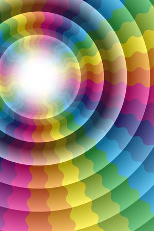 colorful water surface: Wallpaper material, Rainbow, Rainbow, Rainbow, rainbow color, colors, colorful, Yen, wheel, circle, ring, ring