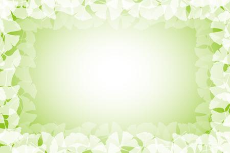 Behang materiaal, Ginkgo, Ginkgo, Ginkgo, bladeren, de herfst, blad, bladeren, gebladerte, Oriental, Japan, de traditionele patronen Stockfoto - 47476115
