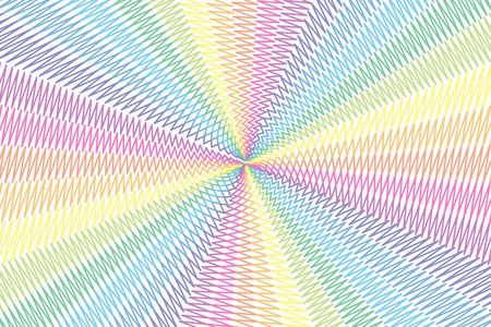 cheeky: Writing background material wallpaper, doodle, Scribble, naughty, Rainbow, rainbow color, 7 colors, colorful, radial, magic Illustration
